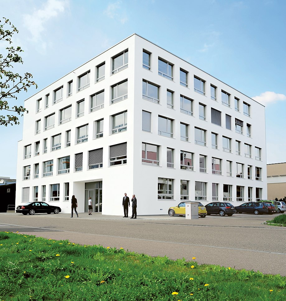 The registered office of Scambia Patent Services GmbH is established at the business Parc Reinach